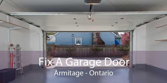 Fix A Garage Door Armitage - Ontario