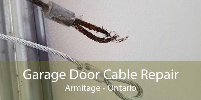 Garage Door Cable Repair Armitage - Ontario
