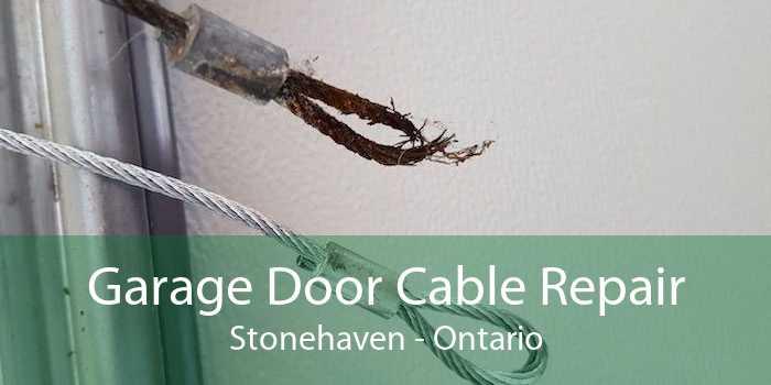 Garage Door Cable Repair Stonehaven - Ontario