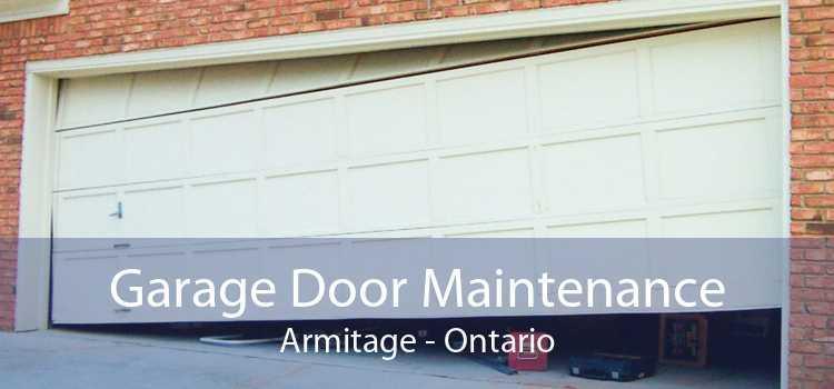 Garage Door Maintenance Armitage - Ontario