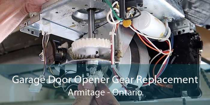 Garage Door Opener Gear Replacement Armitage - Ontario