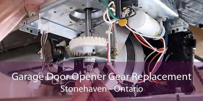 Garage Door Opener Gear Replacement Stonehaven - Ontario