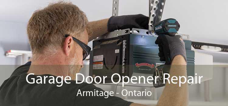 Garage Door Opener Repair Armitage - Ontario