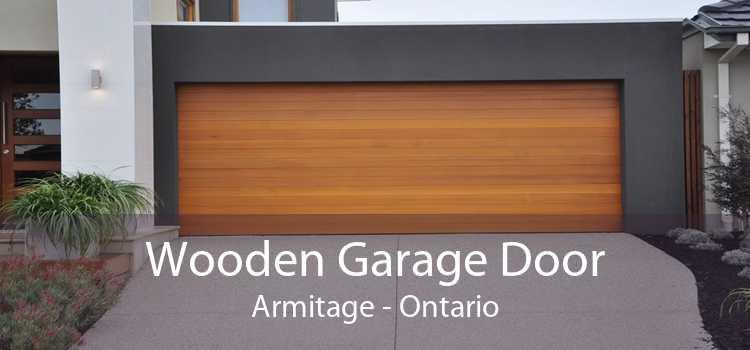 Wooden Garage Door Armitage - Ontario