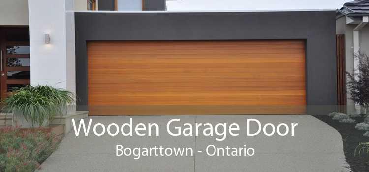 Wooden Garage Door Bogarttown - Ontario