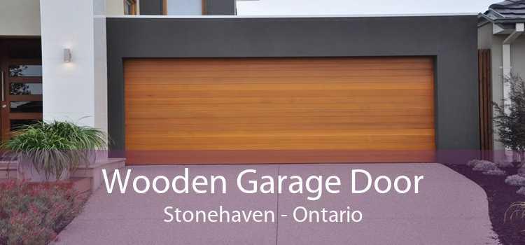 Wooden Garage Door Stonehaven - Ontario